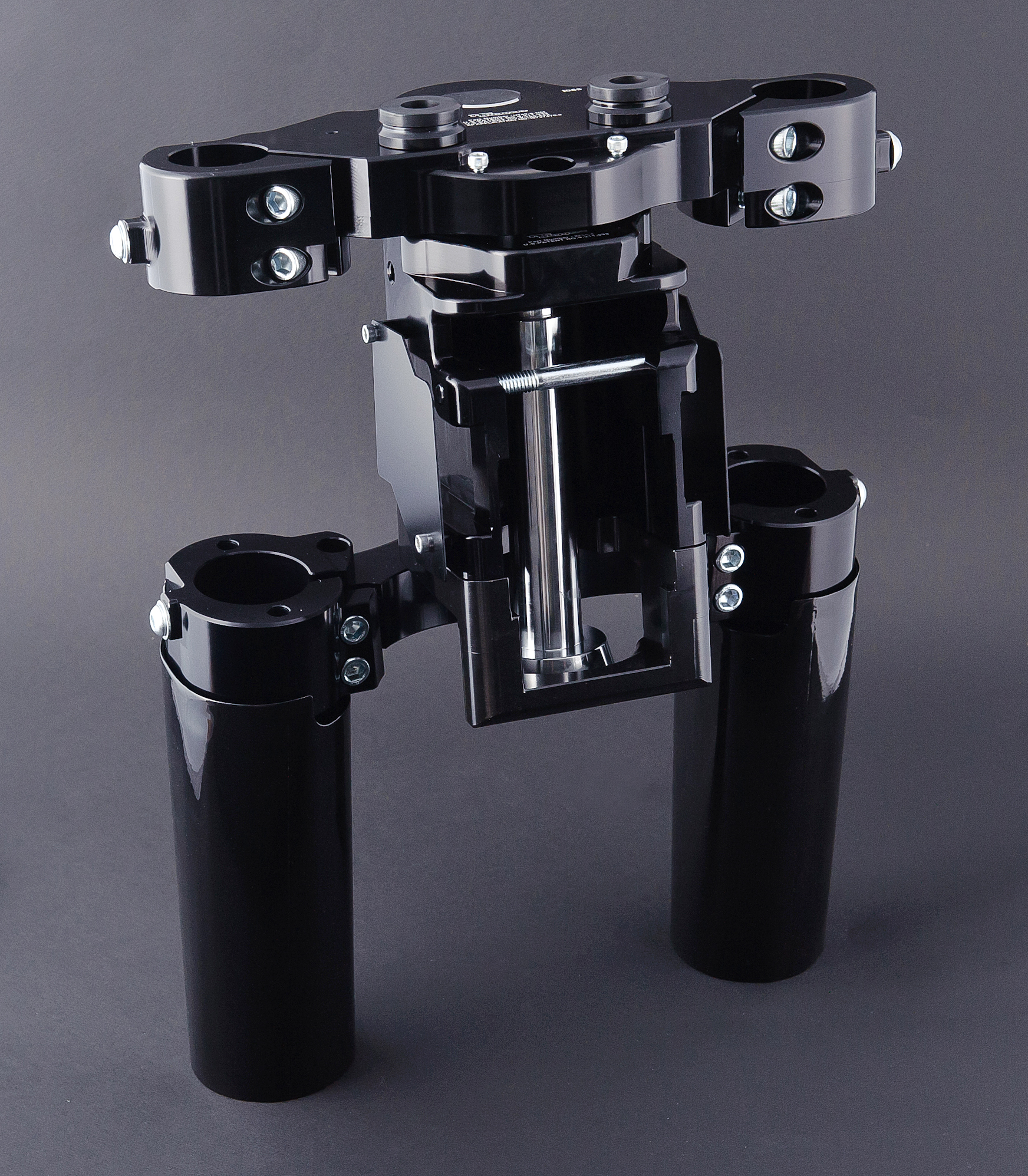 Steel Kore Rake Kit '14-'19 Models, 26″ Wheel No Fork Extension 38Deg,  Black Finish
